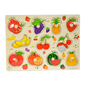 814756 Fruits Pull Out Puzzle