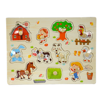 814788 Farm Pull Out Puzzle