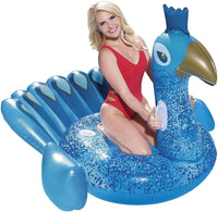 41101 Bestway Inflatable Ride On Pretty Peacock Pool Float Lilo