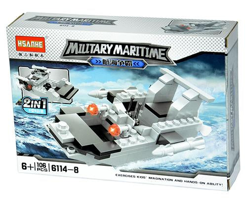 824331-8 Military Maritime Building Blocks