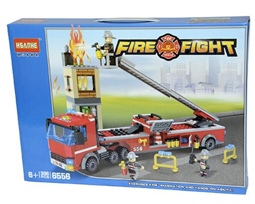 829125 Fire Rescue Building Blocks