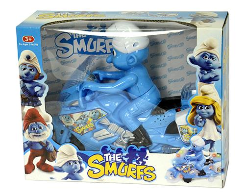 830704 Smurfs Motorcycle
