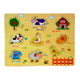 843425 Farm Pull Out Puzzle