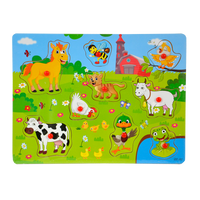 843429 Animals Pull Out Puzzle