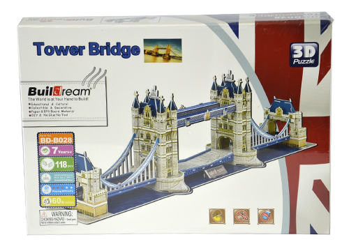 850816 Tower Bridge 3D Puzzle