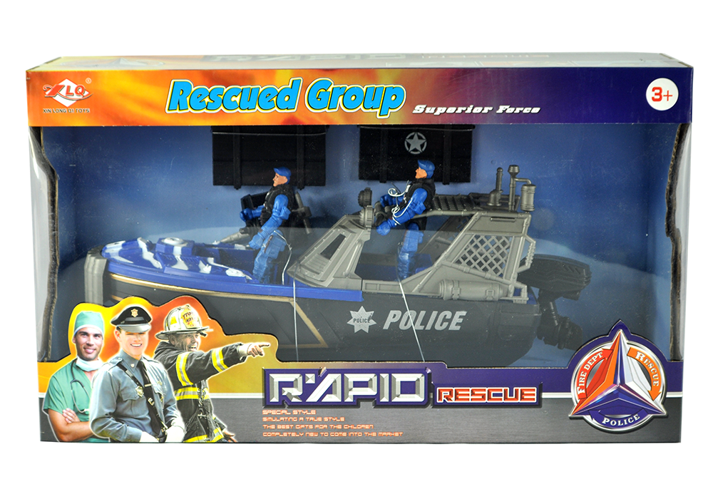 850915 Police Rescue Set