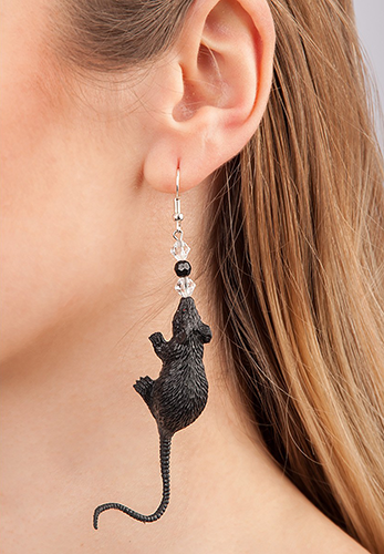 8757 Mice Earrings