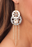 8766 Steampunk Earrings
