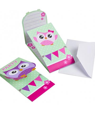 998351 Owl Party Invitations