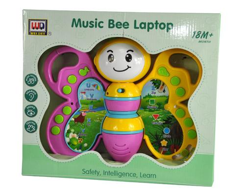 0131 Music Bee Laptop