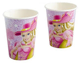 2654 Barbie Paper Cups