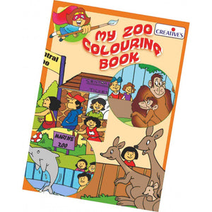 0538 My Zoo Colouring Book