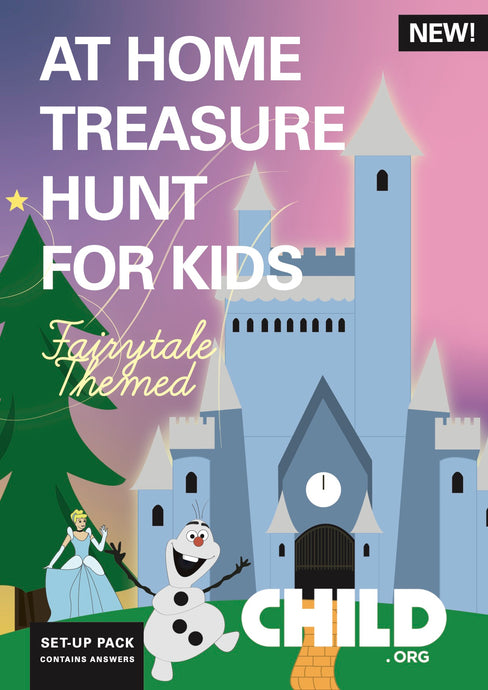 Indoors Fairytale Treasure Hunt for Kids
