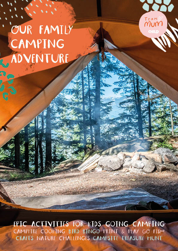 Our family camping adventure: full activity pack