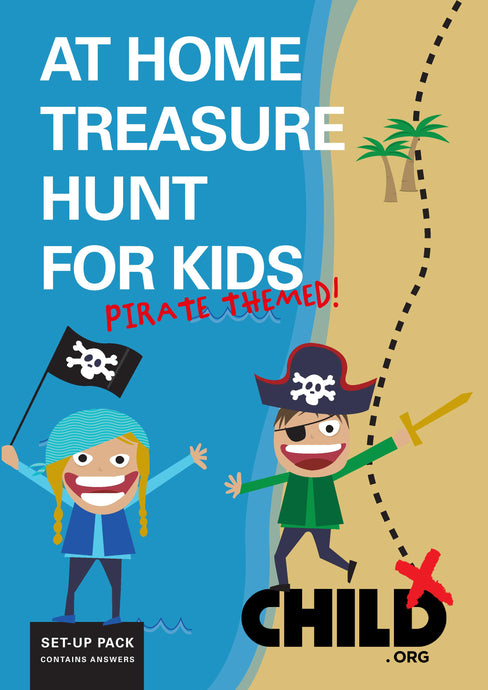 Indoors Pirate Treasure Hunt for Kids