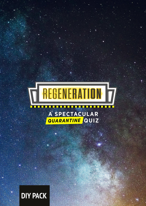 Doctor Who Spectacular Quarantine Quiz Pack