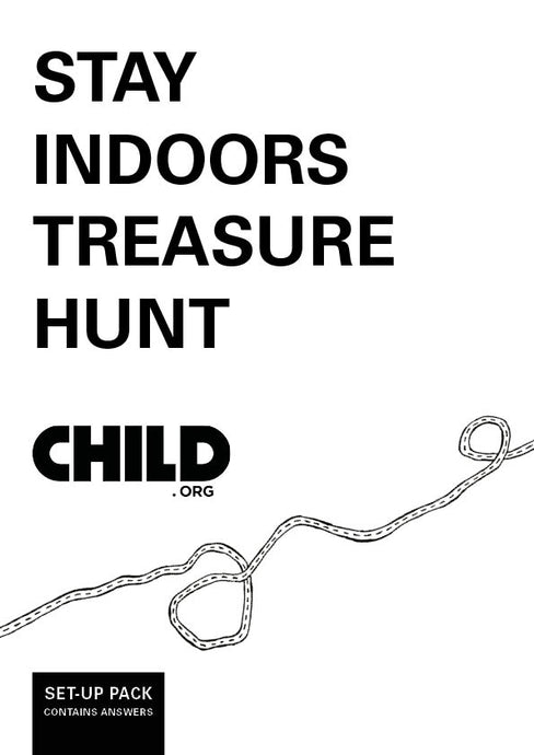 Stay indoors treasure hunt