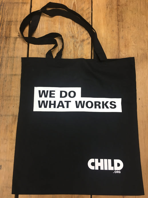 We Do What Works Tote bag