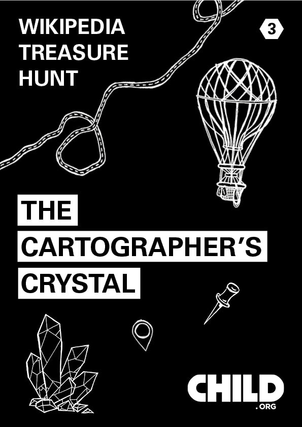 Wikipedia Treasure Hunt 3 - The Cartographer's Crystal