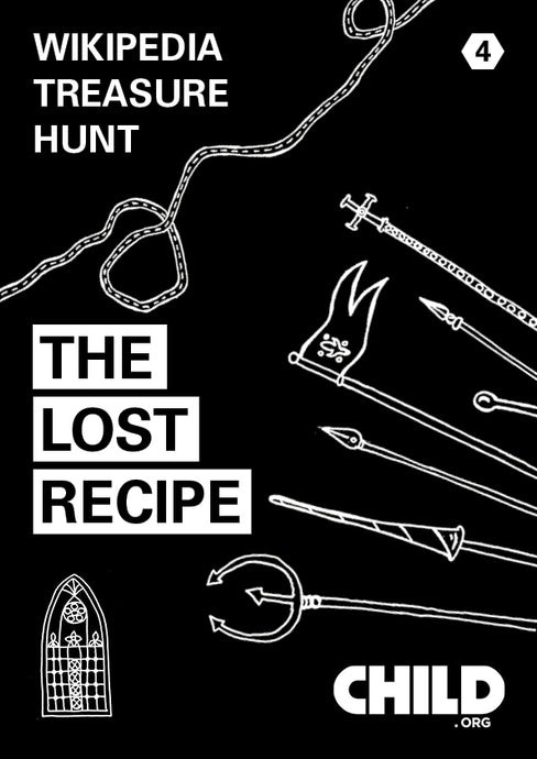 Wikipedia Treasure Hunt 4 - The Lost Recipe
