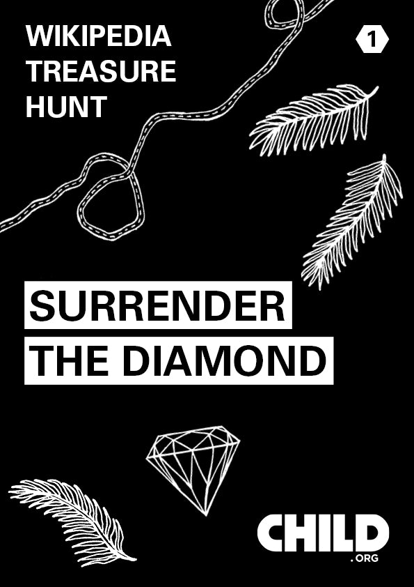 Wikipedia Treasure Hunt 1 - Surrender the Diamond