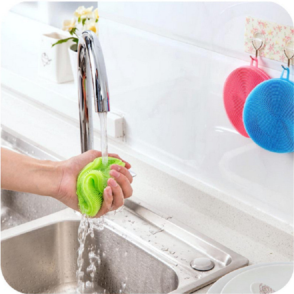 Reusable Silicone Dish Brush
