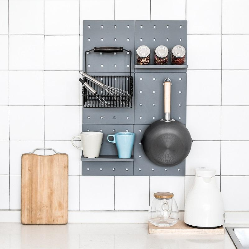 Hole Plate Storage Rack