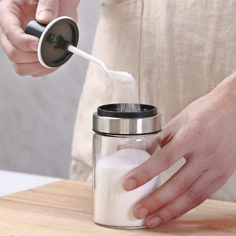 Glass Seasoning Bottle(2 pieces)