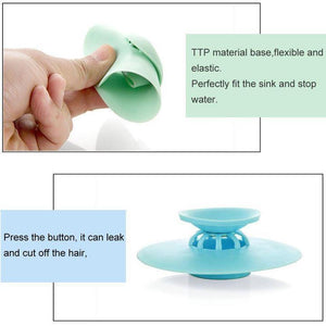 Anti-Clogging Sink Drain Stopper