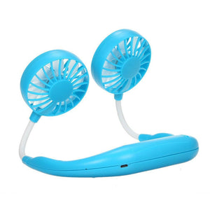 Wearable Hands-free Cooling Fan