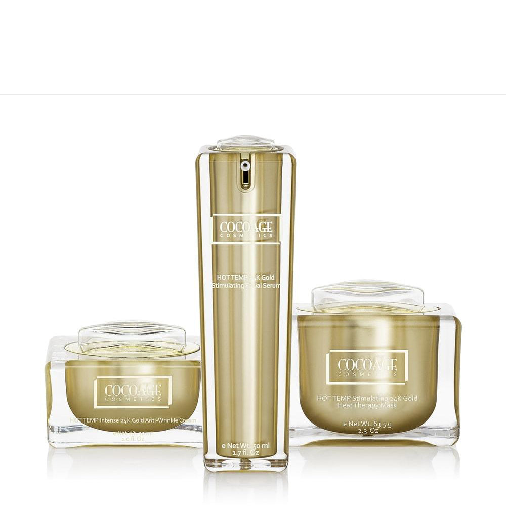 Cocoàge - HOT TEMP 24K Gold Set