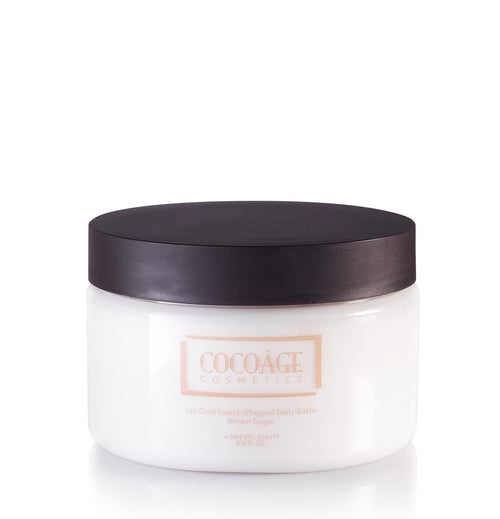Cocoàge - 24K Gold Sweet Whipped Body Butter - Brown Sugar