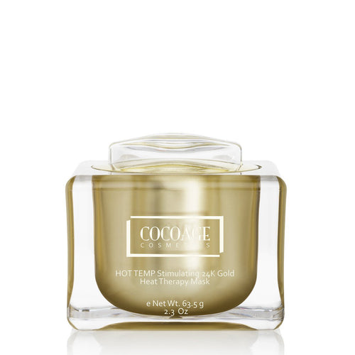 Cocoàge - HOT TEMP Stimulating 24K Gold Heat Therapy Mask