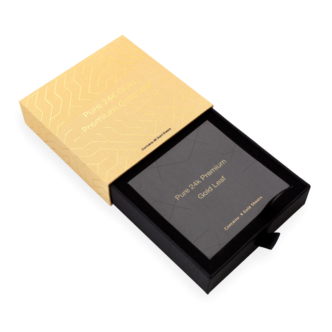 Golden Leaf - Pure 24K Gold Premium Gold Leaf