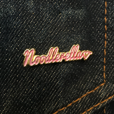 'Logo' Enamel Pin Badge