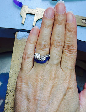 Combination Cast & Forged Wedding Ring Workshop