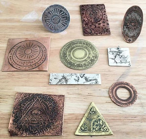 Sat 25 Aug / Etched Jewellery Workshop