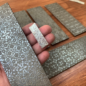 Thu 6 Aug / Roll Printed Metal Workshop