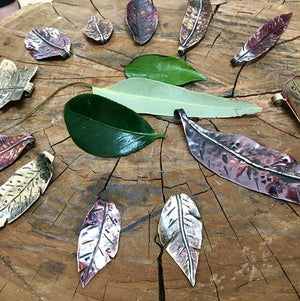 Sat 19 Jan / Organic Objects in Metal Workshop
