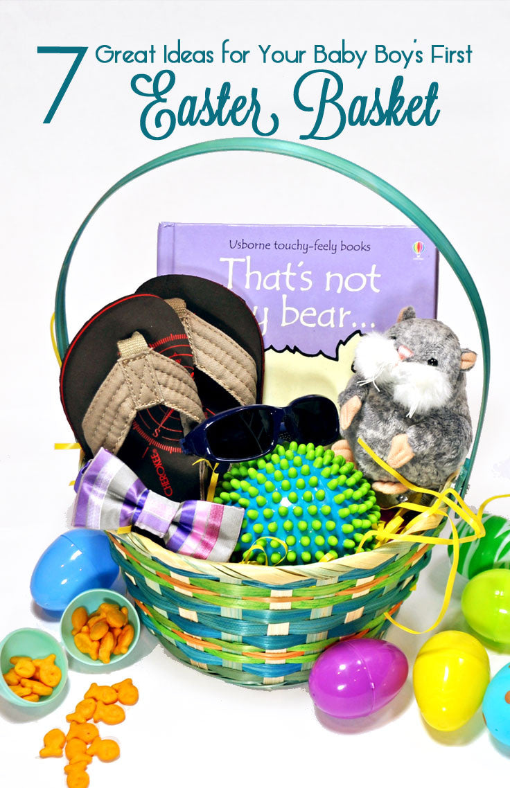 7 Items for Baby's First Easter Basket