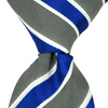 Blue & Grey Stripe