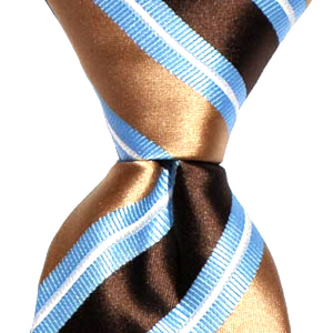Blue and Brown Stripe