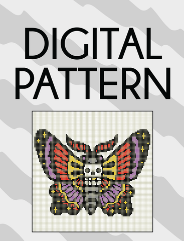 Space Moth Pattern