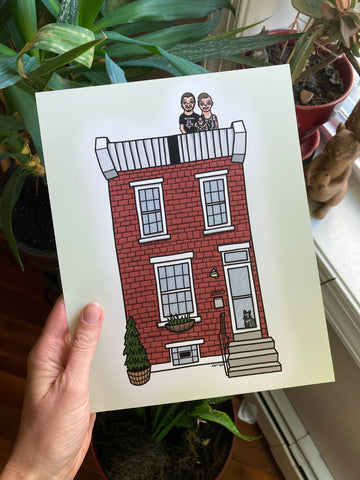 House Portrait Commission