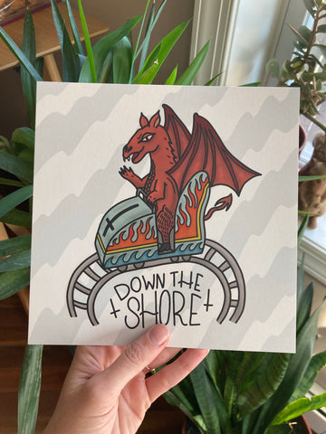 Jersey Devil Down the Shore Print
