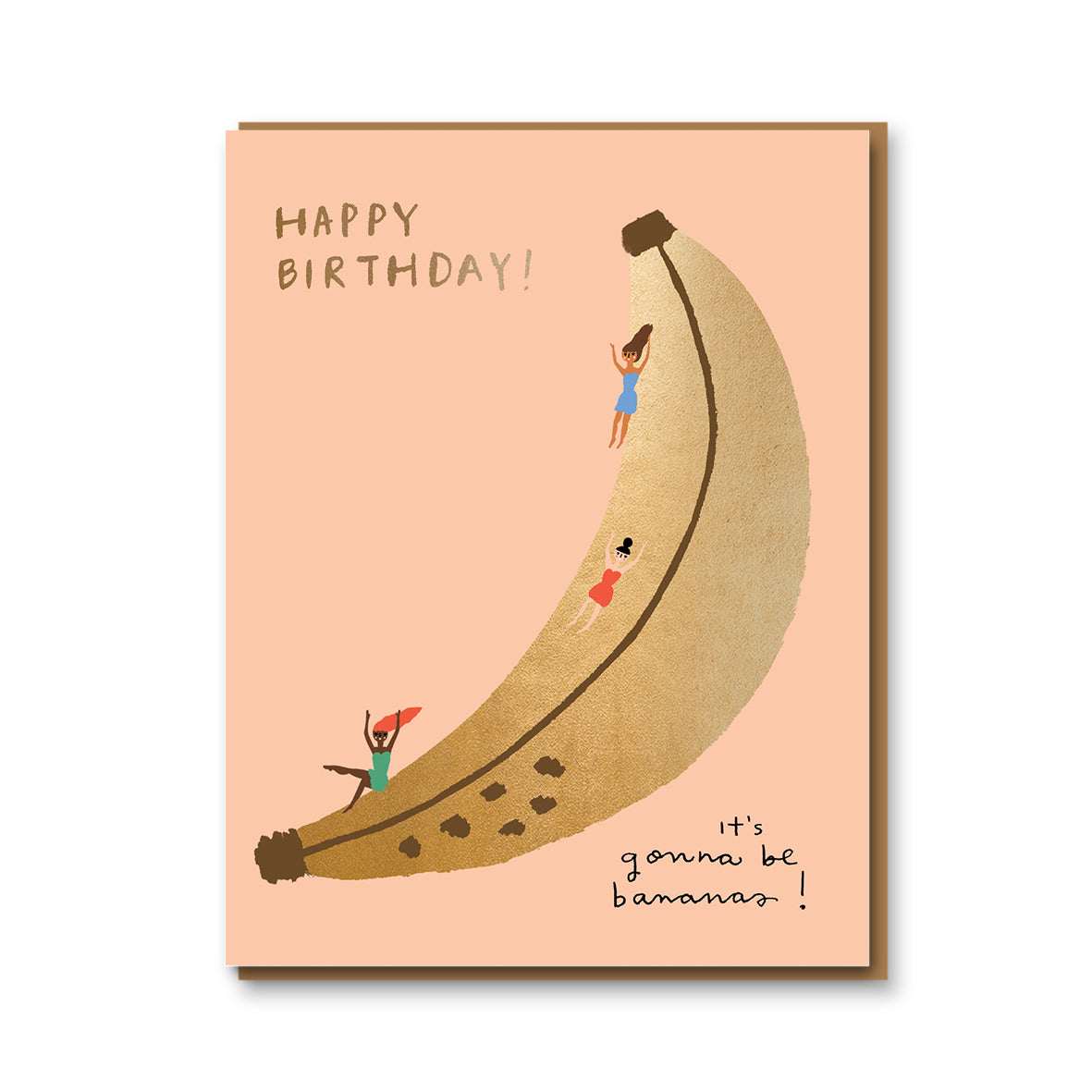 Banana Slide Card
