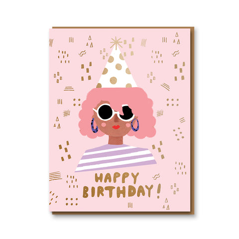 Party Girl Card