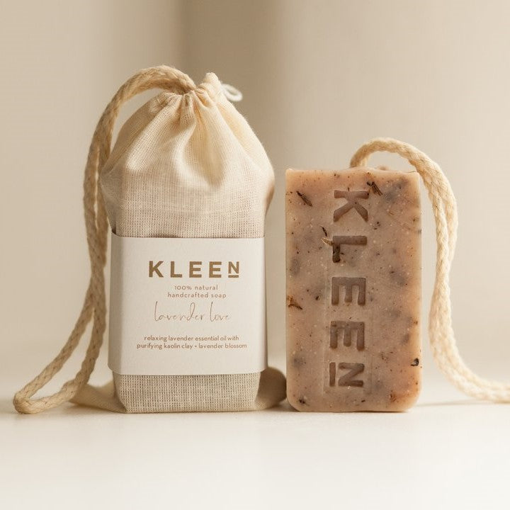 Kleen Soap on a Rope - Lavender Love