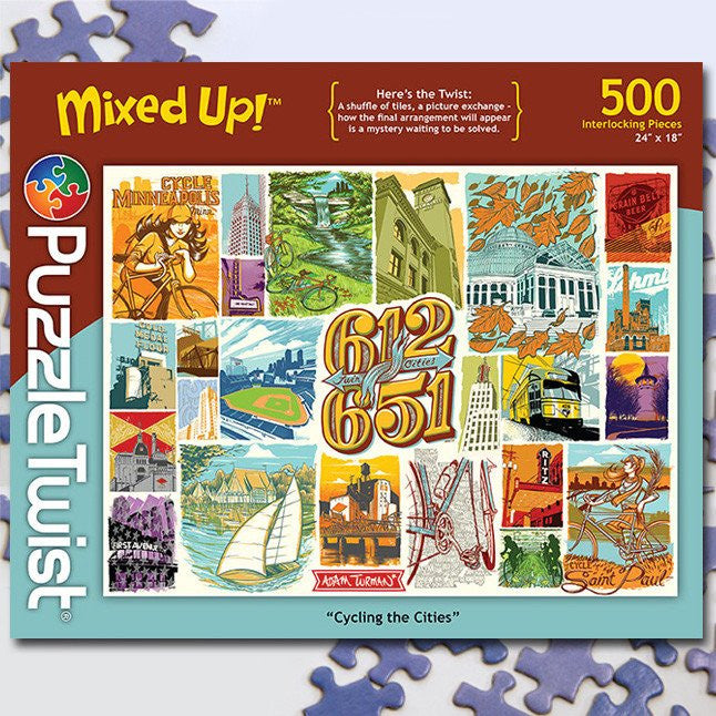 Cycling the Cities :: Jigsaw Puzzle