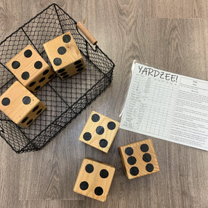 Lawn Dice :: Yardzee and Yarkle Combo :: Oversized Games